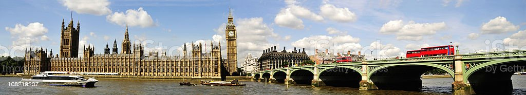 Houses Of Parliament Square London royalty-free stock photo