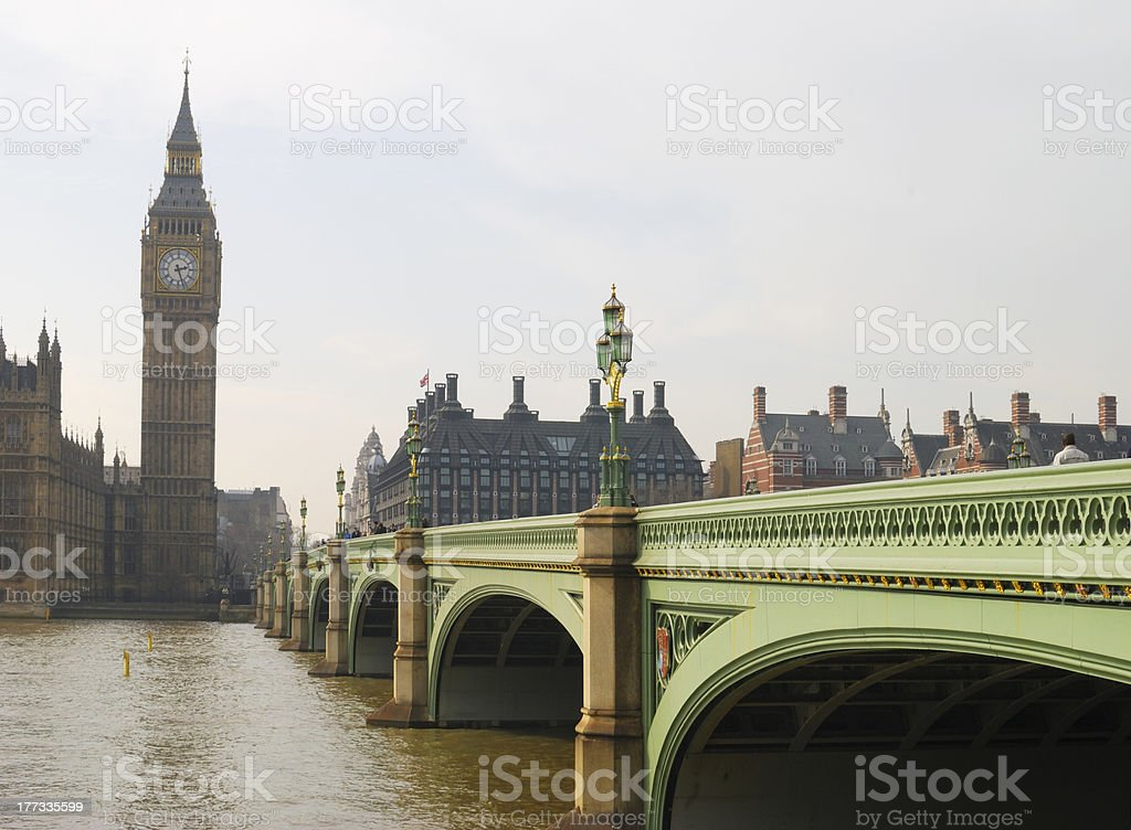 Houses of Parliament. Westminster. London. England royalty-free stock photo