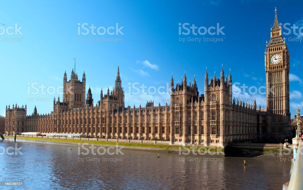 Houses of Parliament,London royalty free stockfoto
