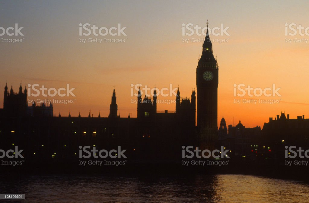 Houses of parliment royalty-free stock photo