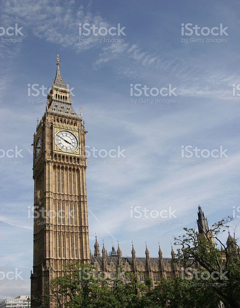 Houses Of Parliment, royalty-free stock photo