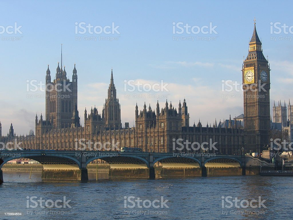 Houses of the Parlament royalty-free stock photo