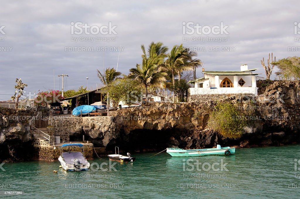 Houses On Galapagos Islands Stock Photo Download Image Now
