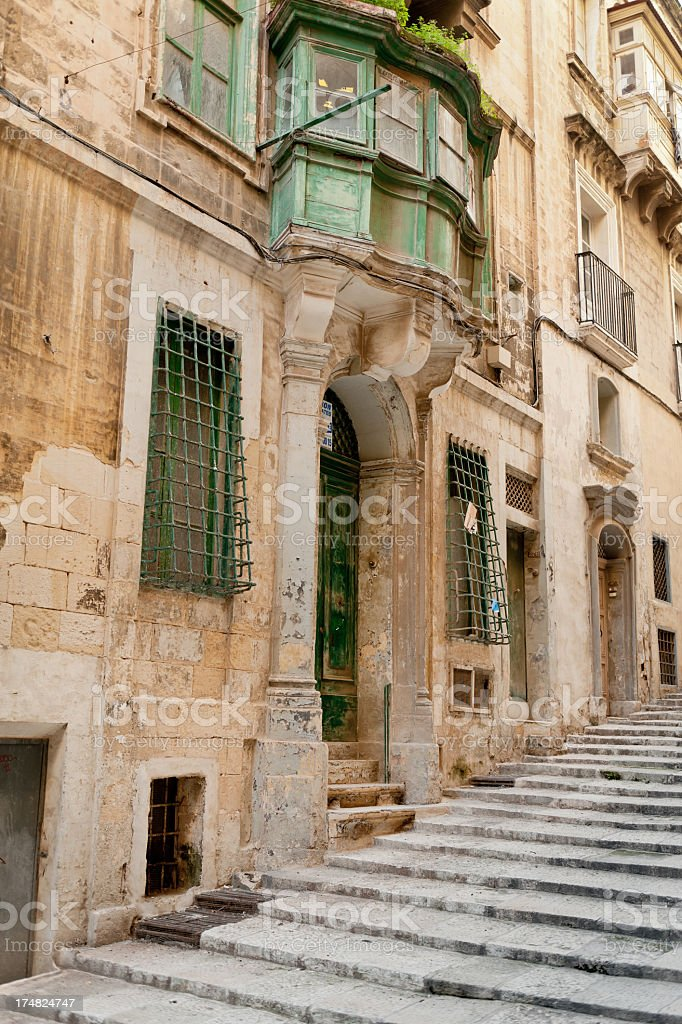 Houses on the Hill royalty-free stock photo