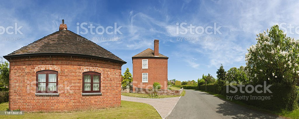 Houses. royalty-free stock photo