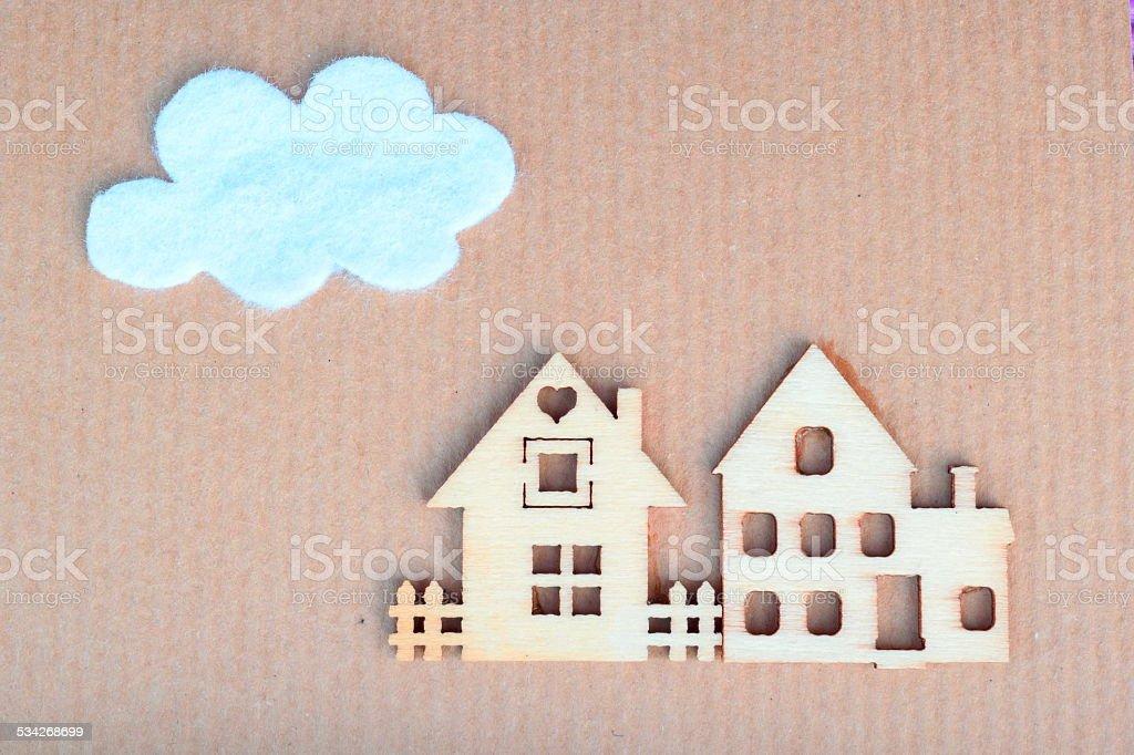 Häuser - Lizenzfrei 2015 Stock-Foto