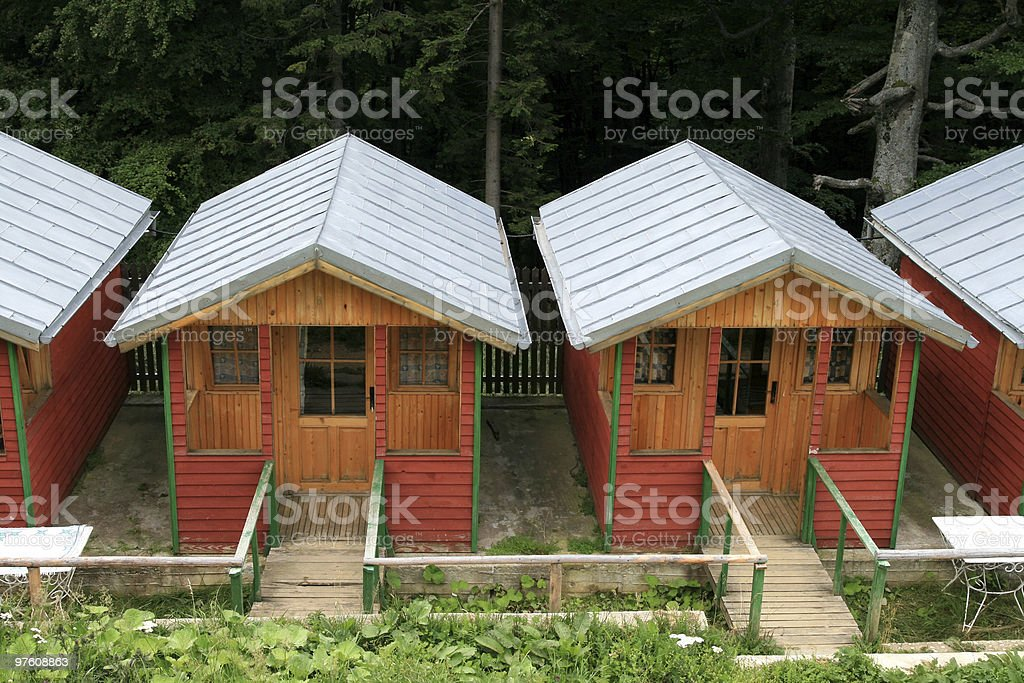 Houses royalty-free stock photo