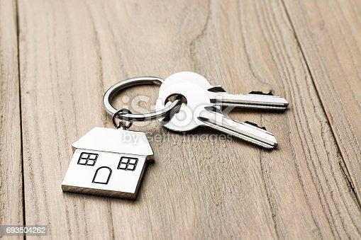 istock House-shaped key 693504262
