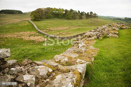 istock Housesteads Roman Fort, Hadrian's Wall 841292828