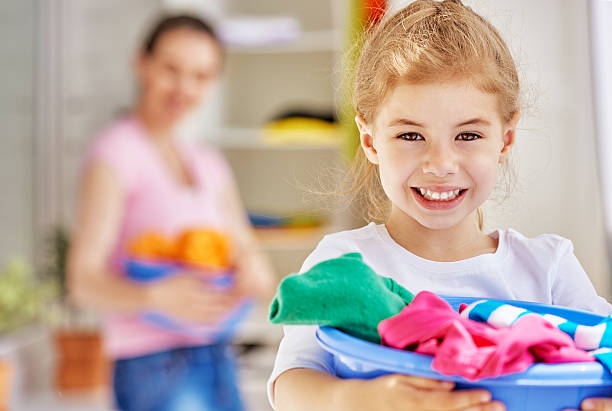 housewife - household chores stock photos and pictures