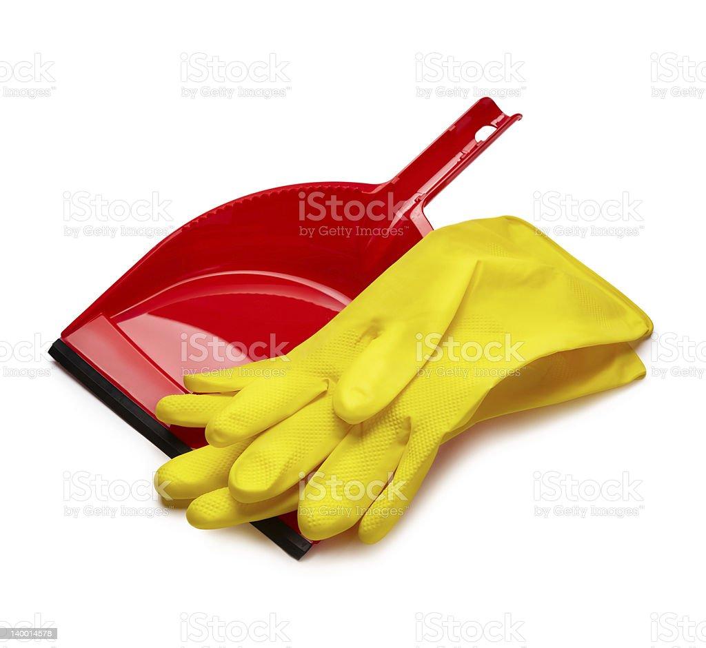 Housework items royalty-free stock photo
