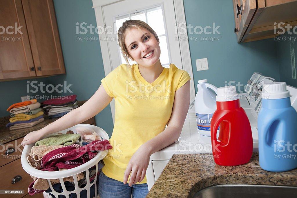 Las tareas domésticas foto de stock libre de derechos