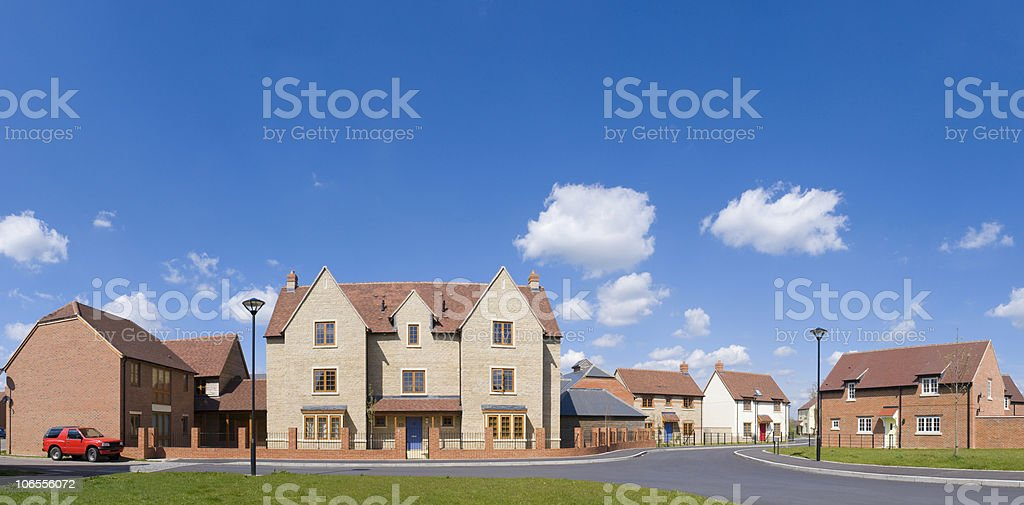 Housing and homes stock photo
