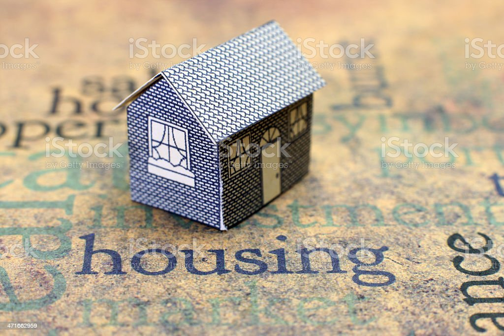 Housing concept royalty-free stock photo