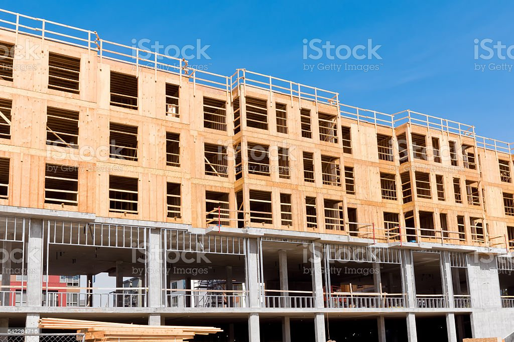 Housing Construction stock photo