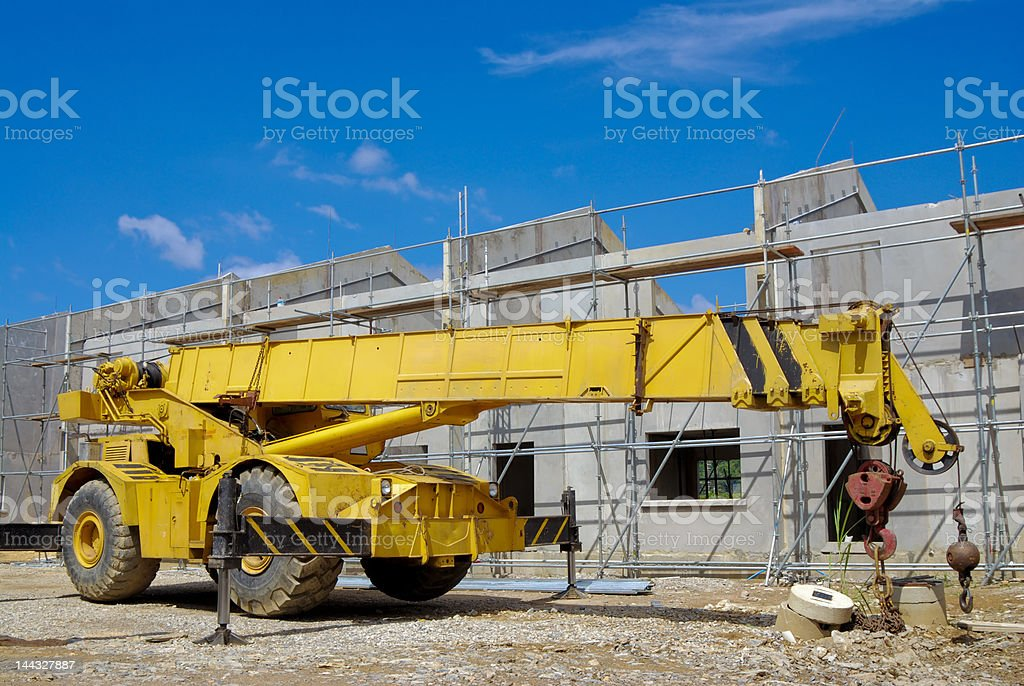 Housing Construction site#1 royalty-free stock photo