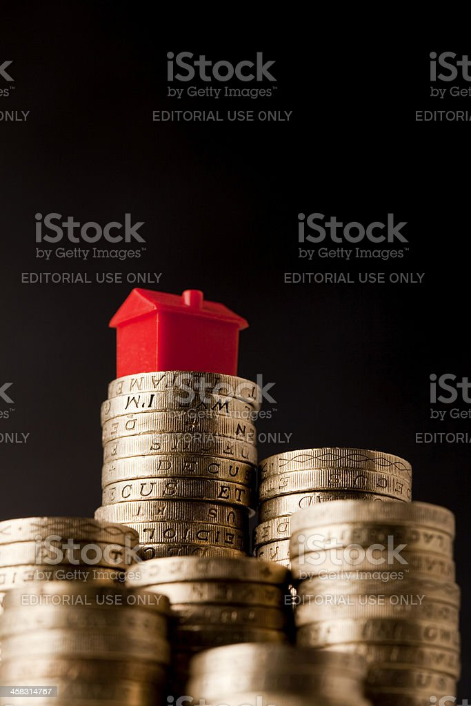 Housing Cost royalty-free stock photo