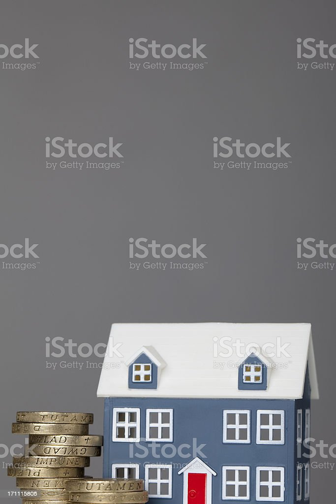 Housing costs royalty-free stock photo