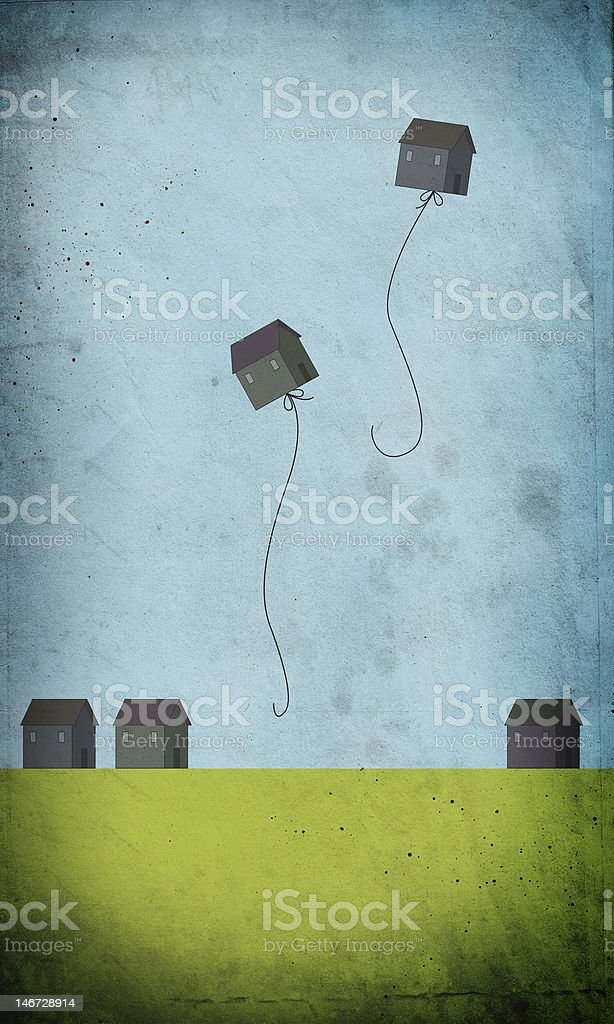 Housing Crisis stock photo