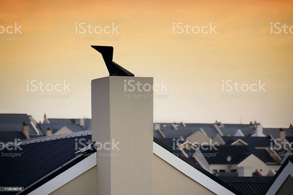 Housing development I royalty-free stock photo