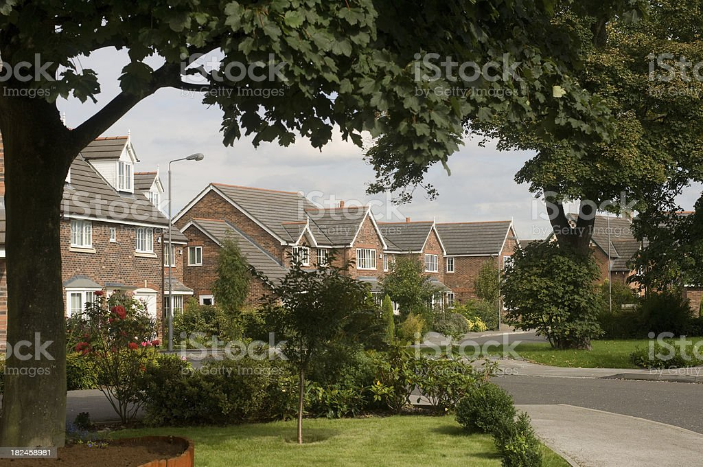 housing development royalty-free stock photo