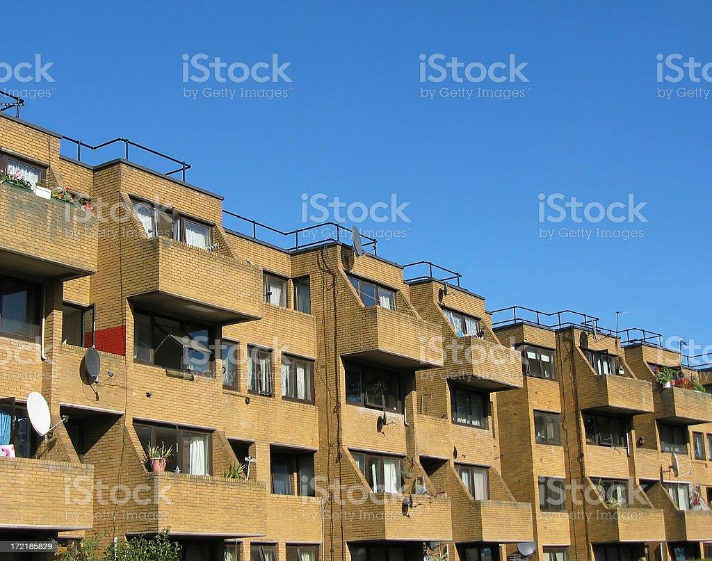 Housing estate royalty-free stock photo