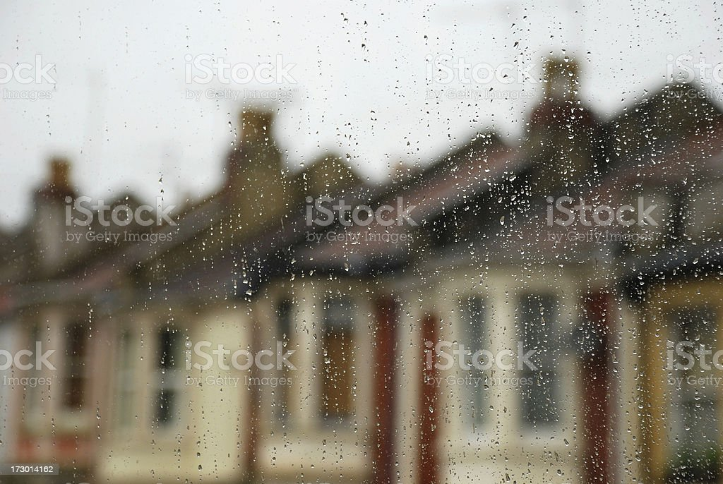 Housing gloom royalty-free stock photo