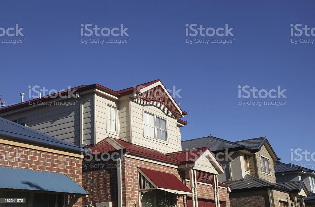 Housing in Australia royalty-free stock photo
