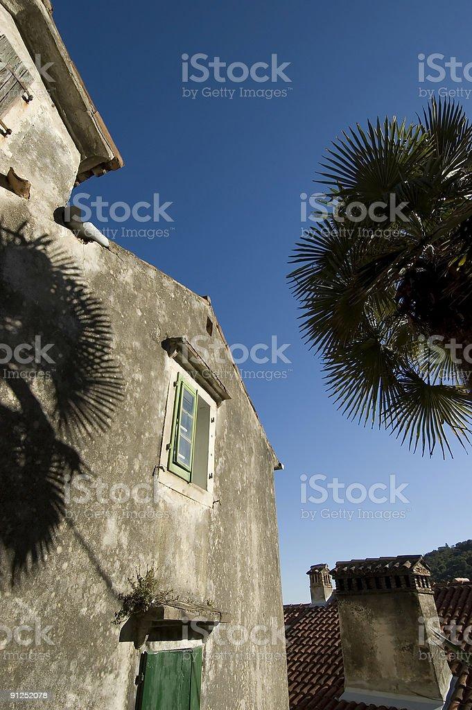 Housing in Croatia stock photo