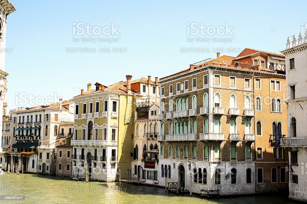 Housing in Venice royalty-free stock photo