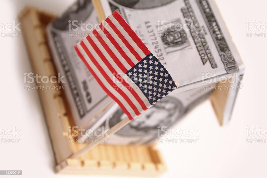 Mercado de la vivienda foto de stock libre de derechos