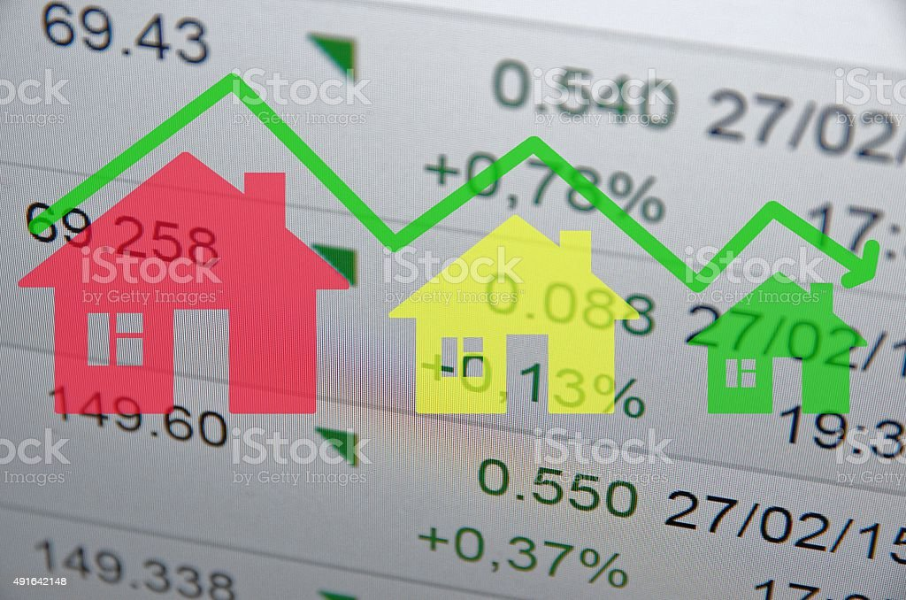 Housing Market Trends stock photo