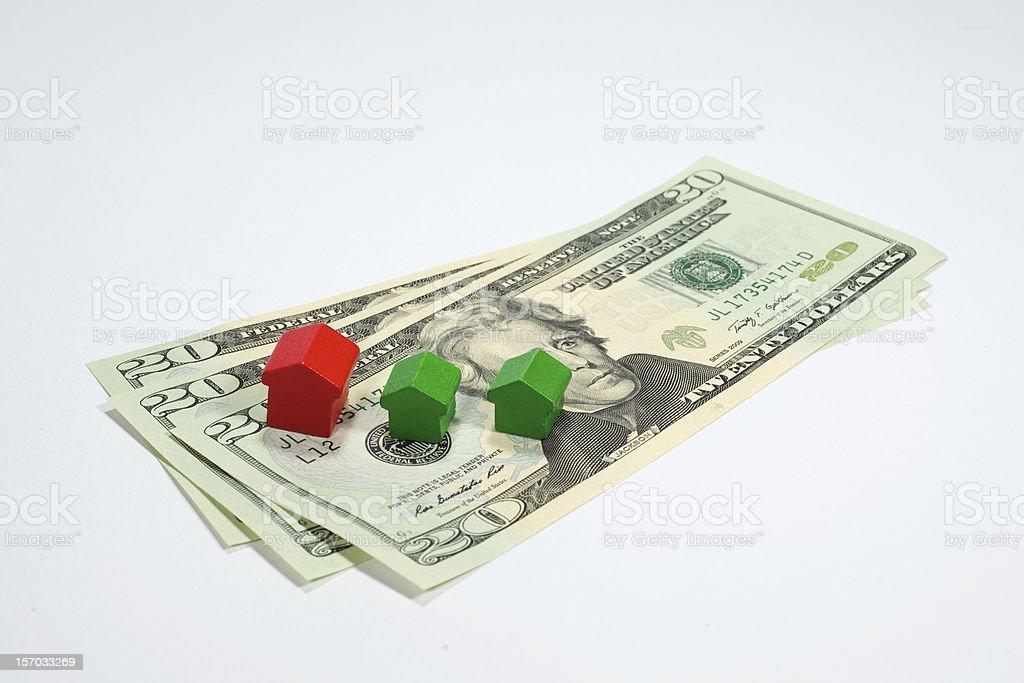 Housing money royalty-free stock photo