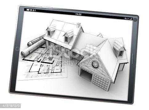istock Housing project app 473797070
