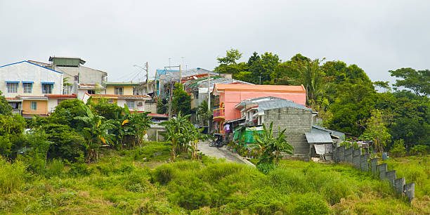 Housing Projects in the Philippines stock photo
