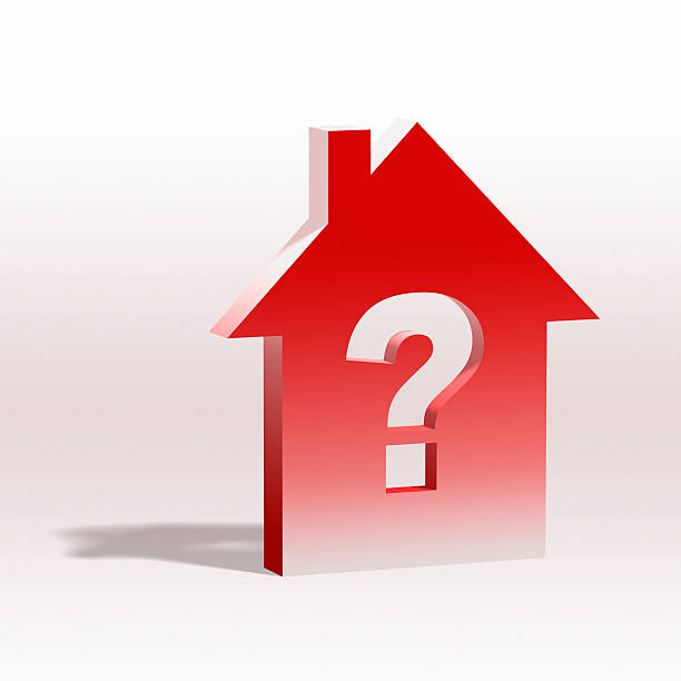 Housing Question XL stock photo