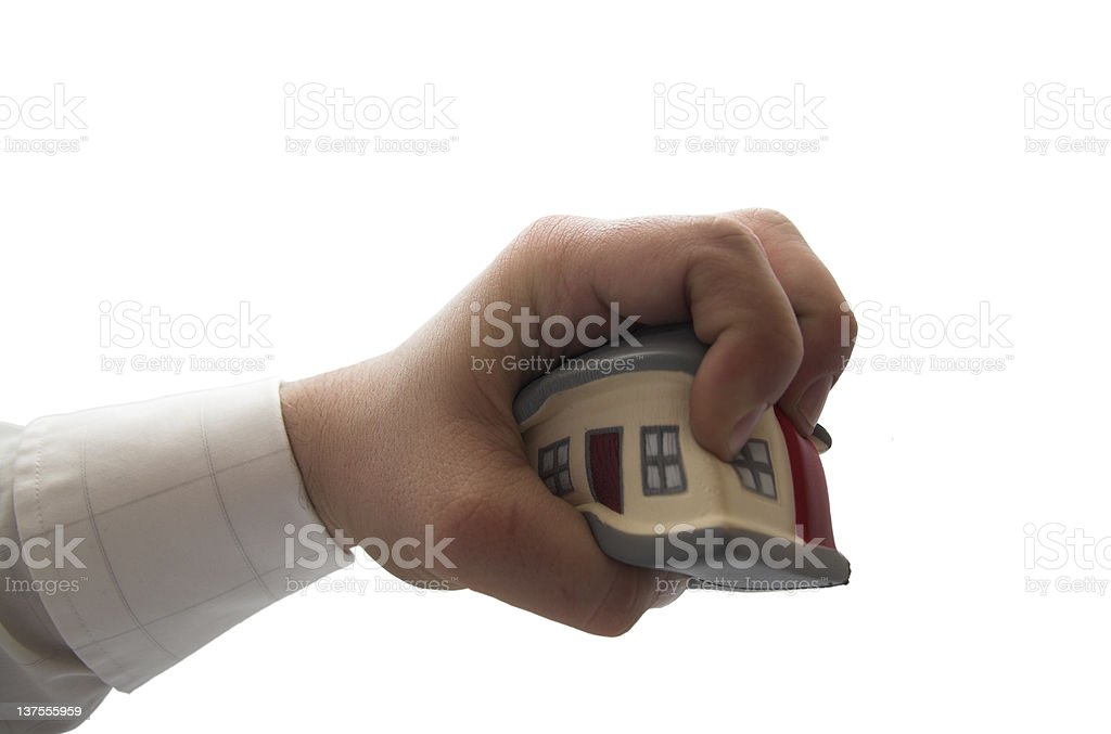 Housing Squeeze royalty-free stock photo