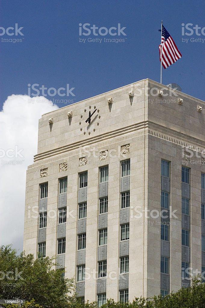 Houston City Hall stock photo