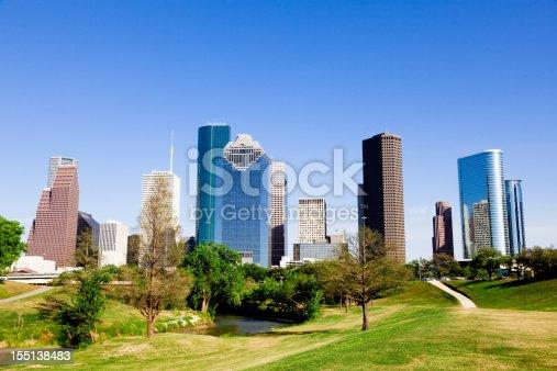 542727462 istock photo Houston downtown 155138483