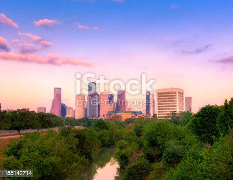 542727462 istock photo Houston downtown 155142714