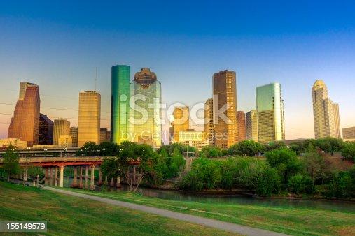 542727462 istock photo Houston downtown 155149579