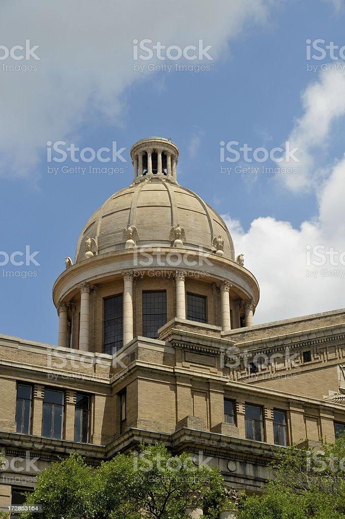 Houston -  Harris County Courthouse royalty-free stock photo