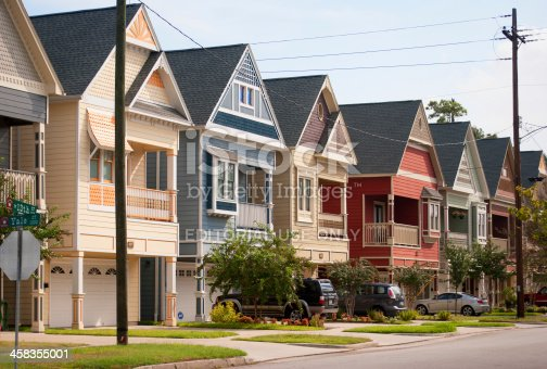 Colorful Townhomes at The Heights