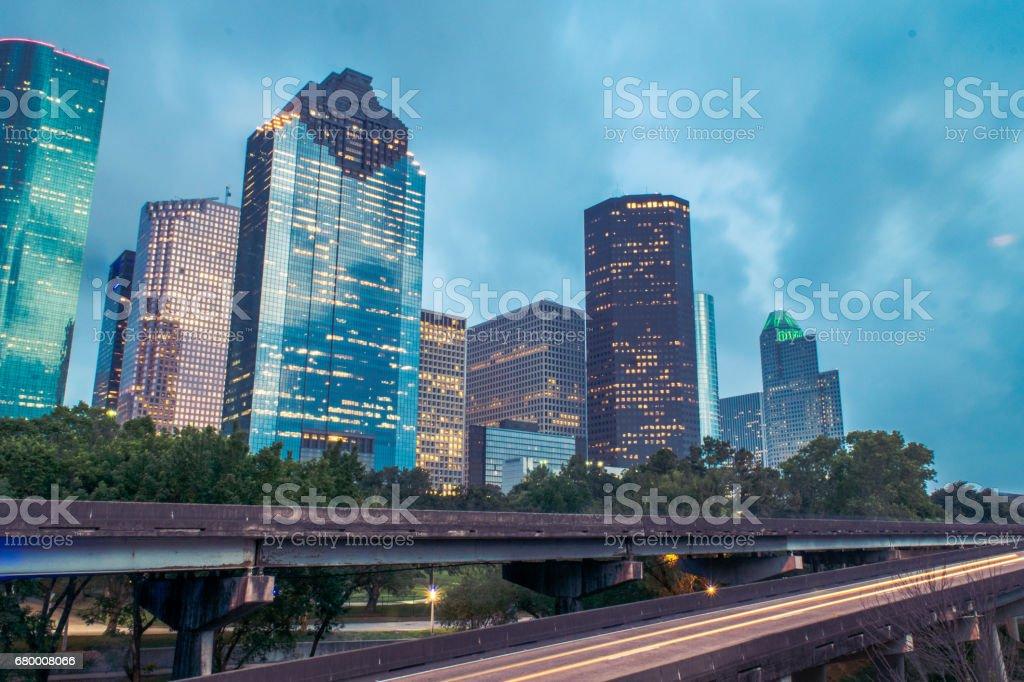 Houston Skyline stock photo