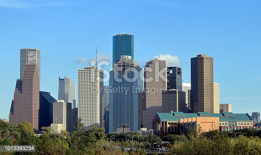 542727462 istock photo Houston, Texas, downtown city skyline 1013393234