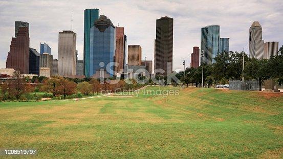 542727462 istock photo Houston Texas Skyline 1208519797