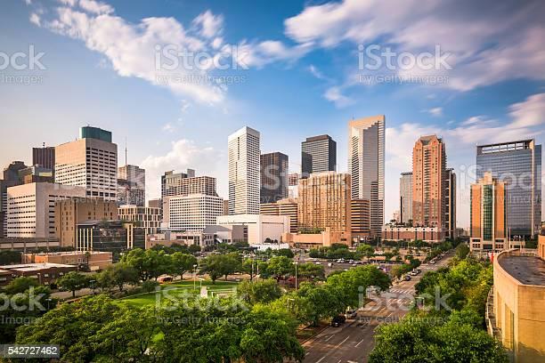 Houston Texas Skyline Stock Photo - Download Image Now