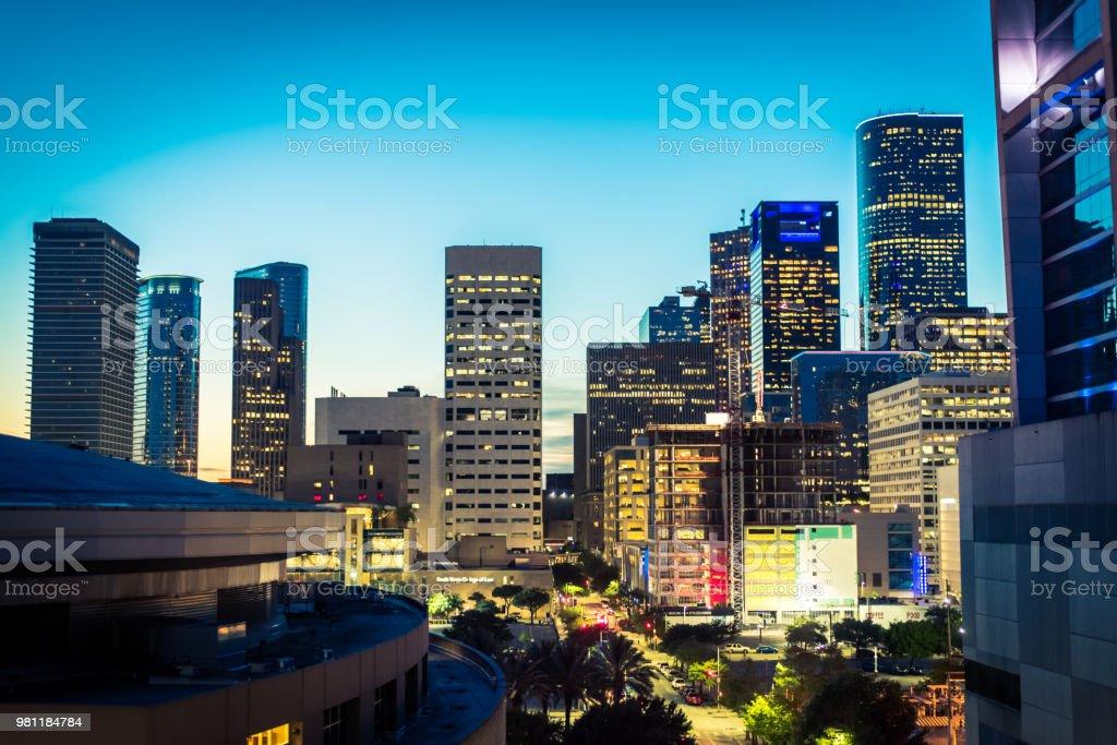 Houston, Texas Skyline stock photo