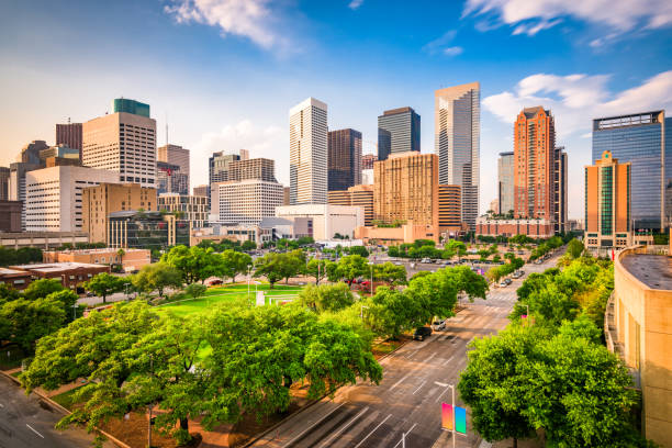 Skyline von Houston, Texas, USA – Foto