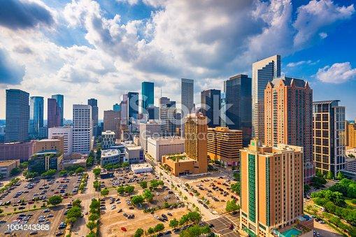 542727462 istock photo Houston, Texas, USA Skyline 1004243368